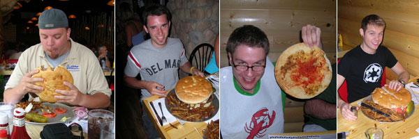 the sasquatch 4lb burger big foot lodge memphis tn. Black Bedroom Furniture Sets. Home Design Ideas